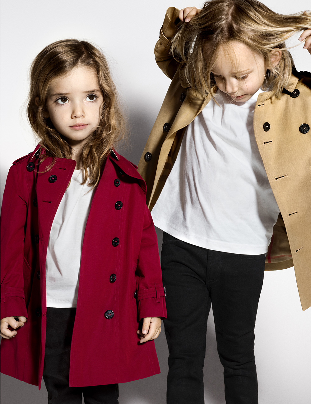 Burberry Childrenswear SS16 Campaign