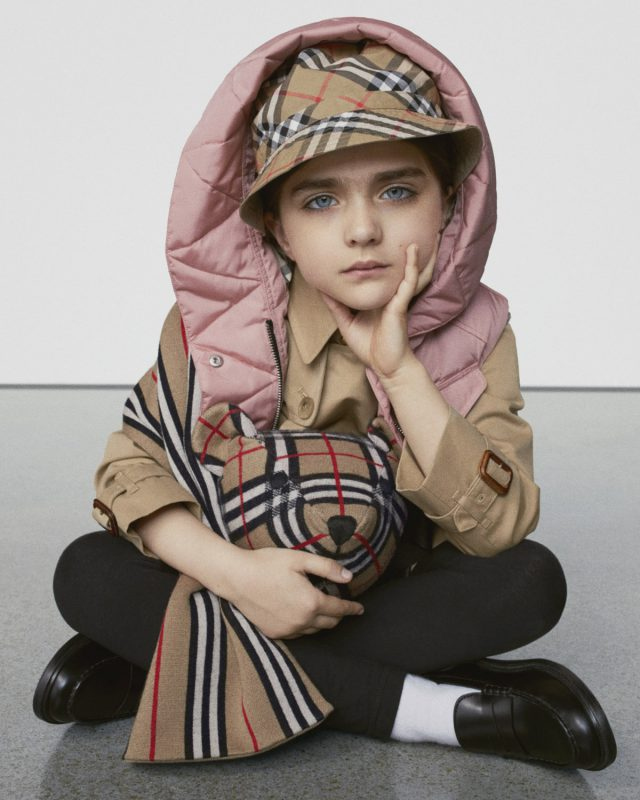 Burberry Kids AW19 Pre-collection
